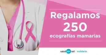 Foto de SaludOnNet regala 250 ecografías mamarias