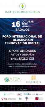 Foro Internacional de Blockchain e Innvocación Tecnológica