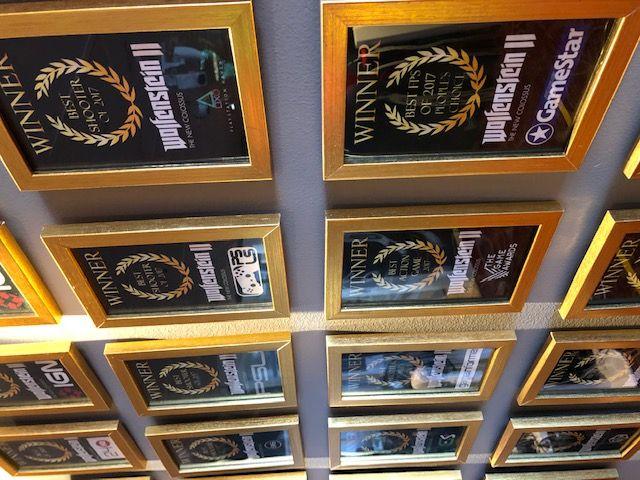 Foto de Algunos de los premios que el estudio ha recibido gracias a