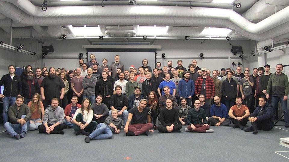 Fotografia El equipo de MachineGames al completo