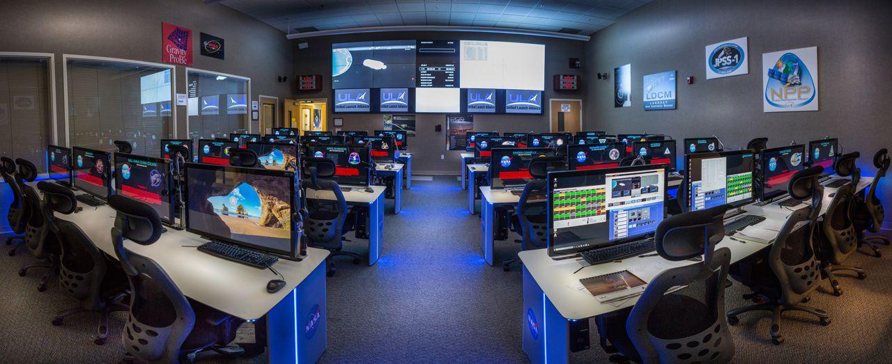 Fotografia Sala de lanzamiento de NASA