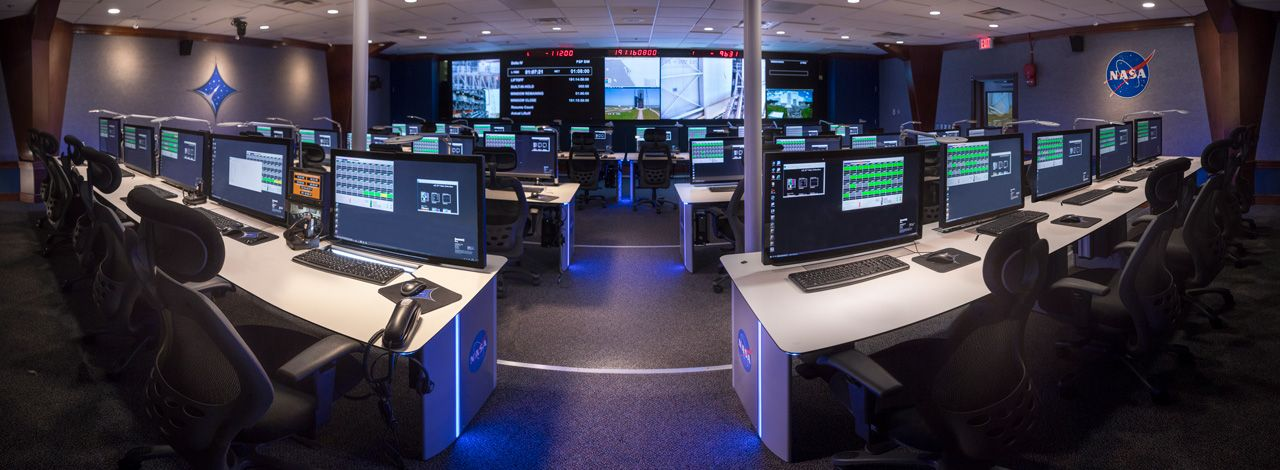 Foto de Centro de control de NASA