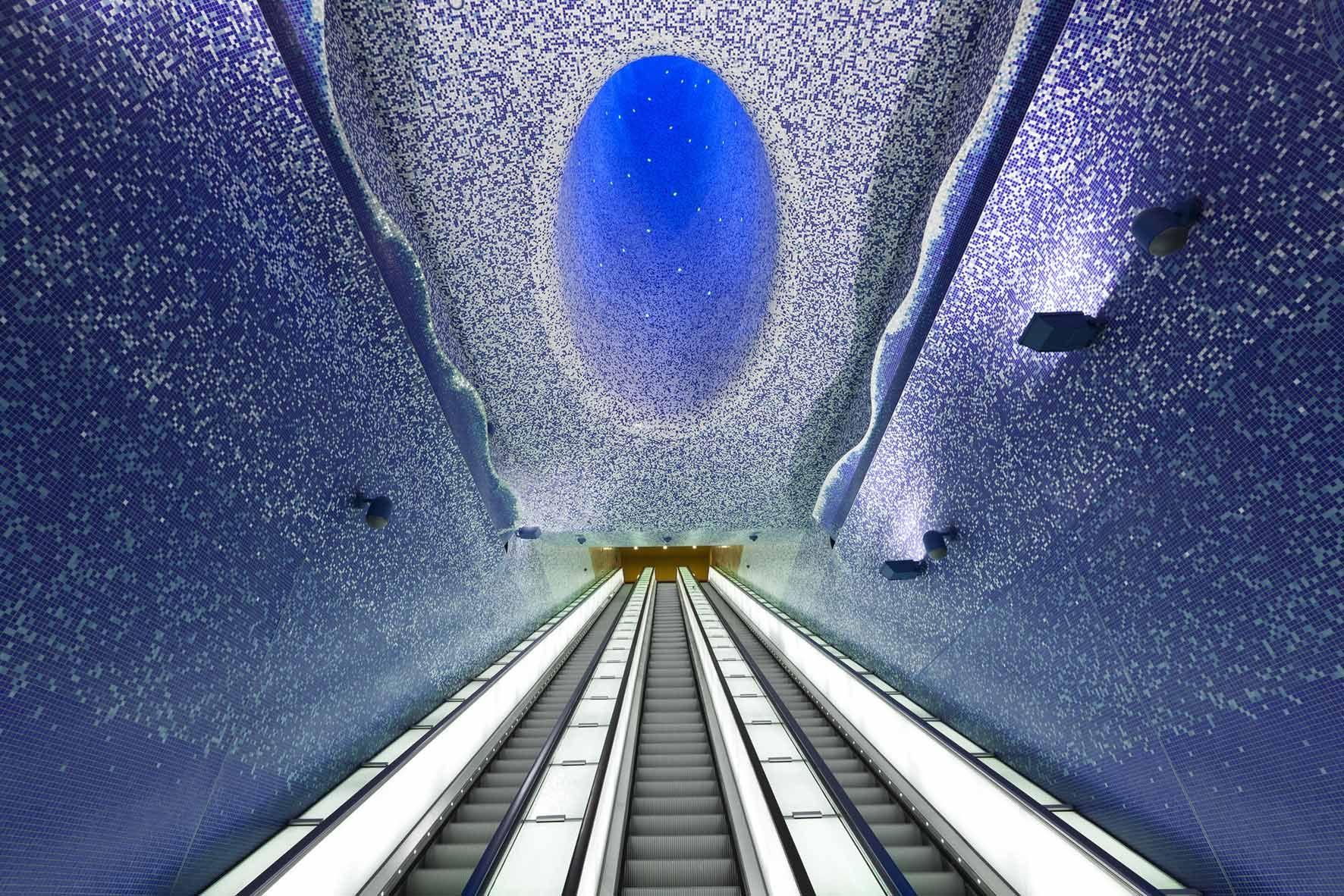 Foto de Estación Toledo en el Metro de Nápoles