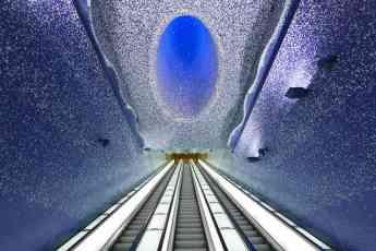 Estación Toledo en el Metro de Nápoles