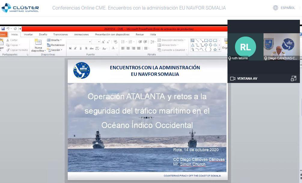 Operación Atalanta: una historia de éxito en el ´´centro de gravedad marítimo mundial´´
