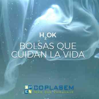 Bolsas hidrosolubles y compostables H2OK