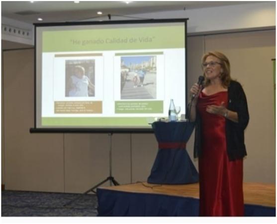 Foto de Margarita Arteaga, educadora en salud