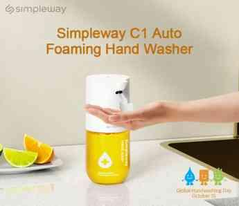 Dispensador de jabón automático Simpleway C1