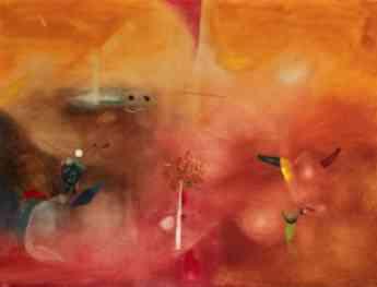 Foto de Sin título, 1956 - Óleo sobre lienzo - Modest Cuixart i