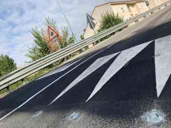 Foto de Pastrana estrena mejoras en la seguridad vial de su travesía