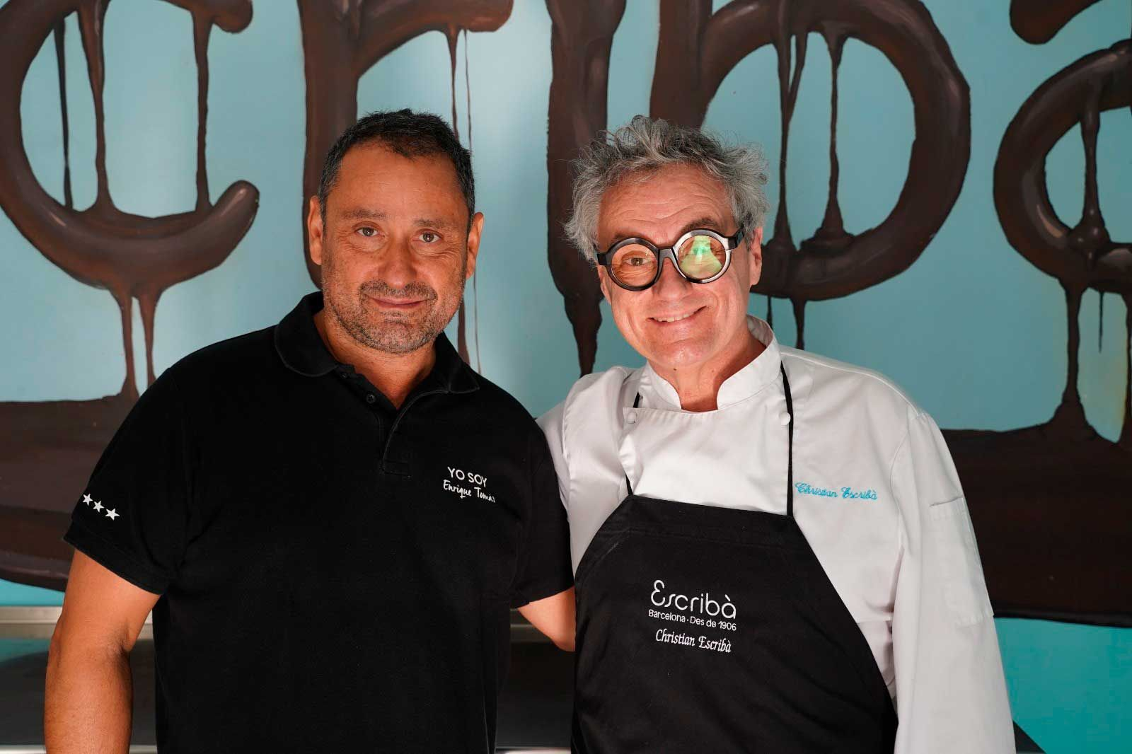 Fotografia Enrique Tomas y Cristian Escribà en foodies