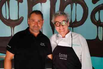 Enrique Tomas y Cristian Escribà en foodies