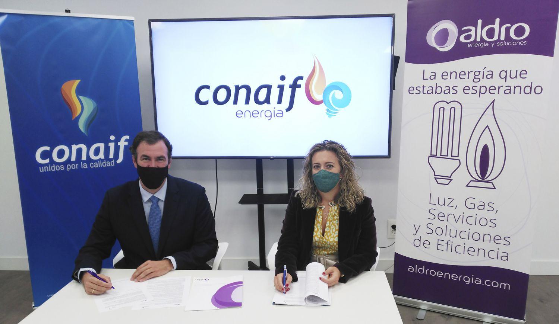 Fotografia Aldro Energía y Conaif