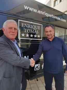 Enric Crous y Enrique Tomás en la nueva SEDE