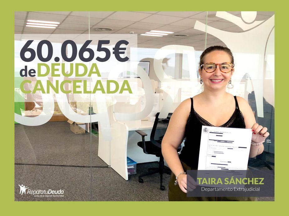 Repara tu Deuda abogados cancela 60.065 ? a un vecino de Badajoz con la Ley de la Segunda Oportunidad