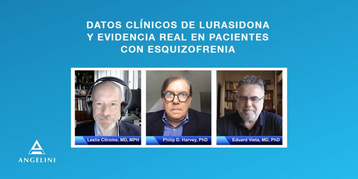 Fotografia Imagen evento uso Lurasidona en pacientes con esquisofrenia