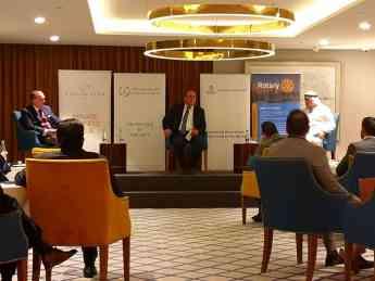 Foro empresarial organizado por el Abrahamic Business Circle de Dubái