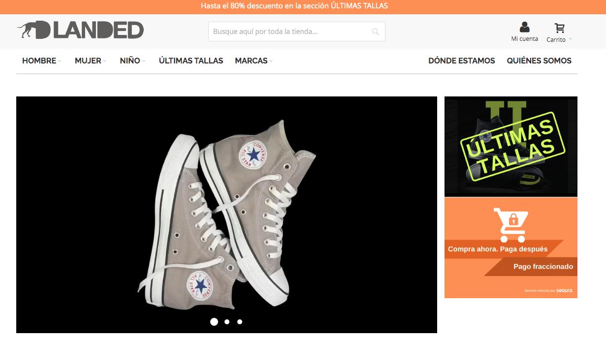 Landed.es, el outlet de Converse con la mayor variedad de modelos
