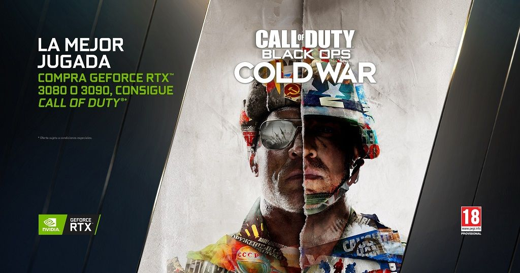 NVIDIA anuncia un nuevo bundle: GeForce RTX 3080 y 3090 con Call of Duty: Black Ops Cold War