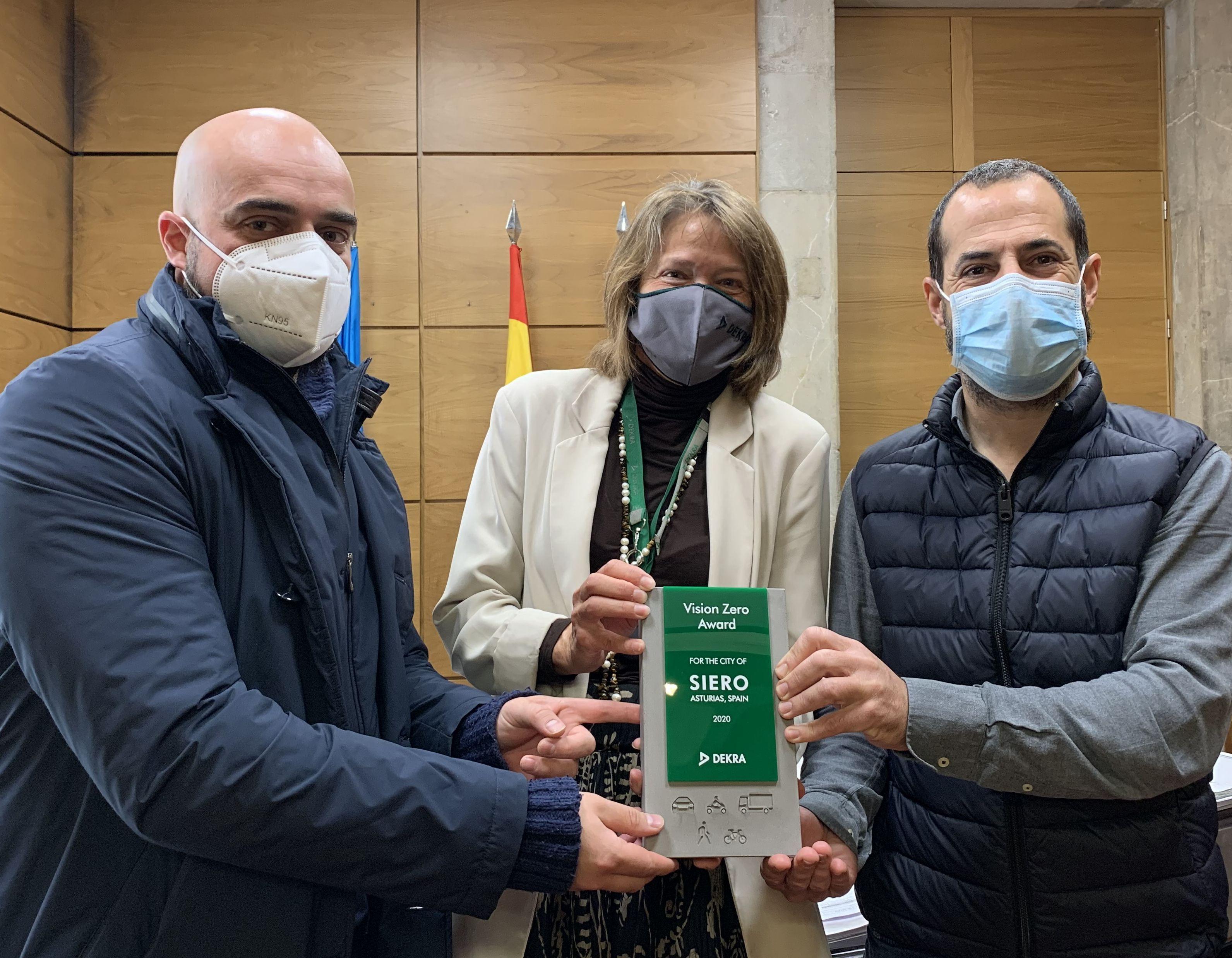 Foto de Premio DEKRA Vision Zero al municipio de Siero en Asturias