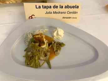 Foto de Tapa de la abuela. Julia Medrano