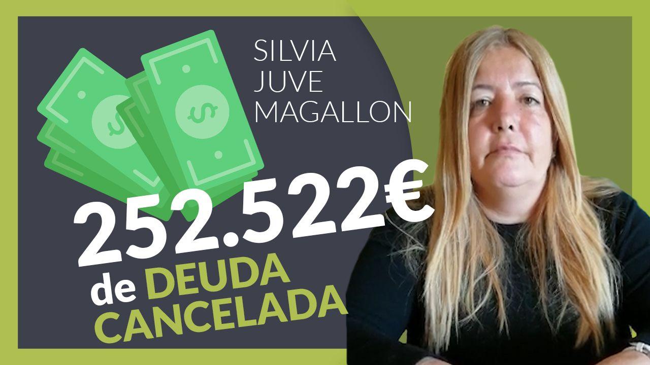 Foto de Silvia Juve, ha cancelado sus deudas con Repara tu deuda