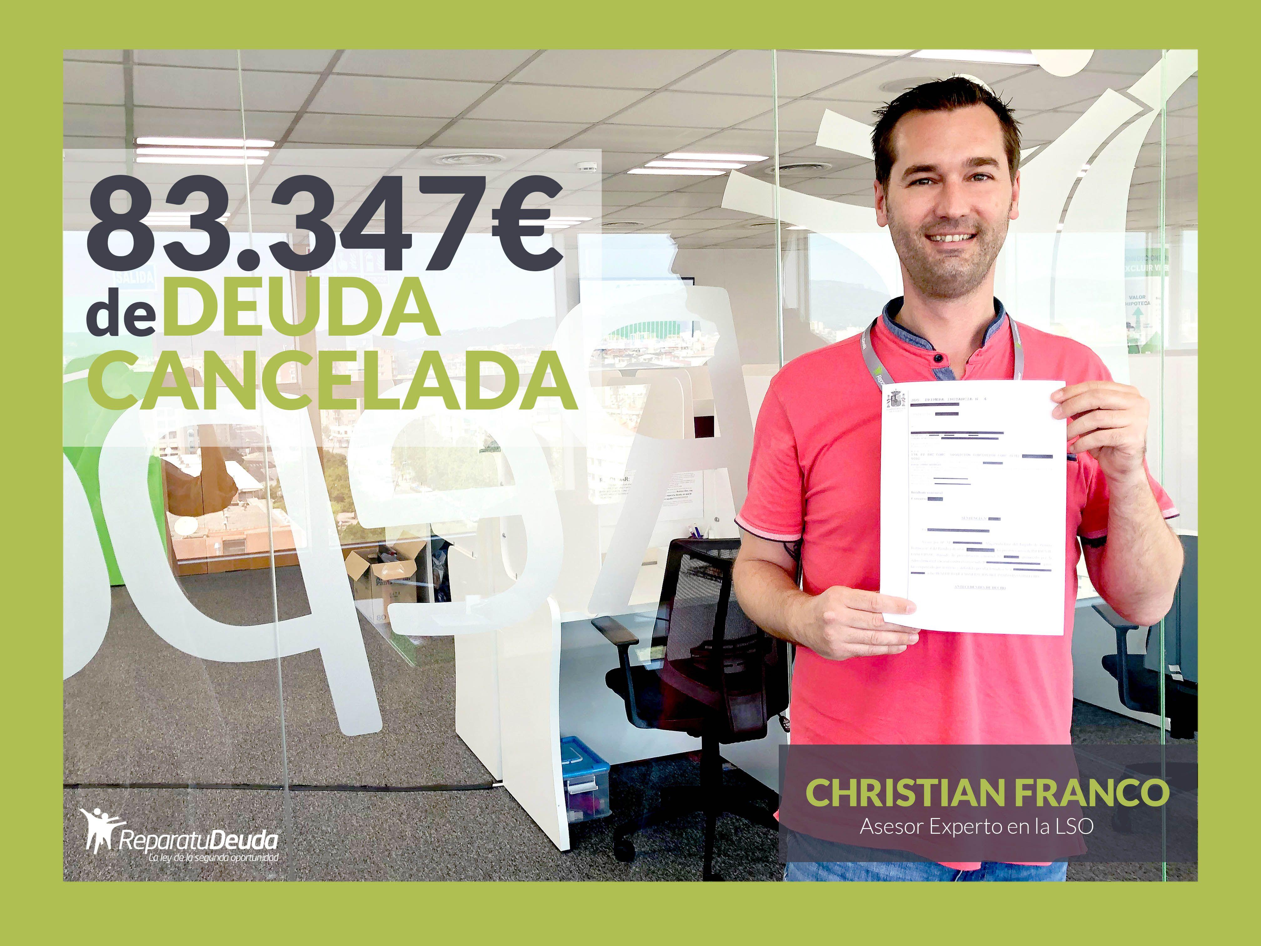 Repara tu Deuda cancela una deuda de 83.347? en Sevilla a un matrimonio con la Ley de Segunda Oportunidad