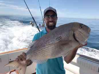 Pesca en Invierno en la Costa del Sol con Lovit Charter Boat
