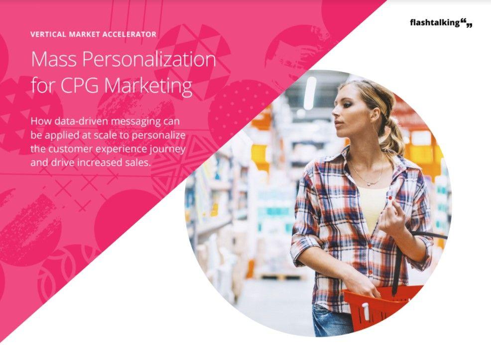 Las creatividades personalizadas revolucionan el sector gran consumo al llegar a cada persona en el momento preciso de la compra