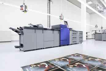 Impresora DEVELOP ineo+ 6100 en fábrica