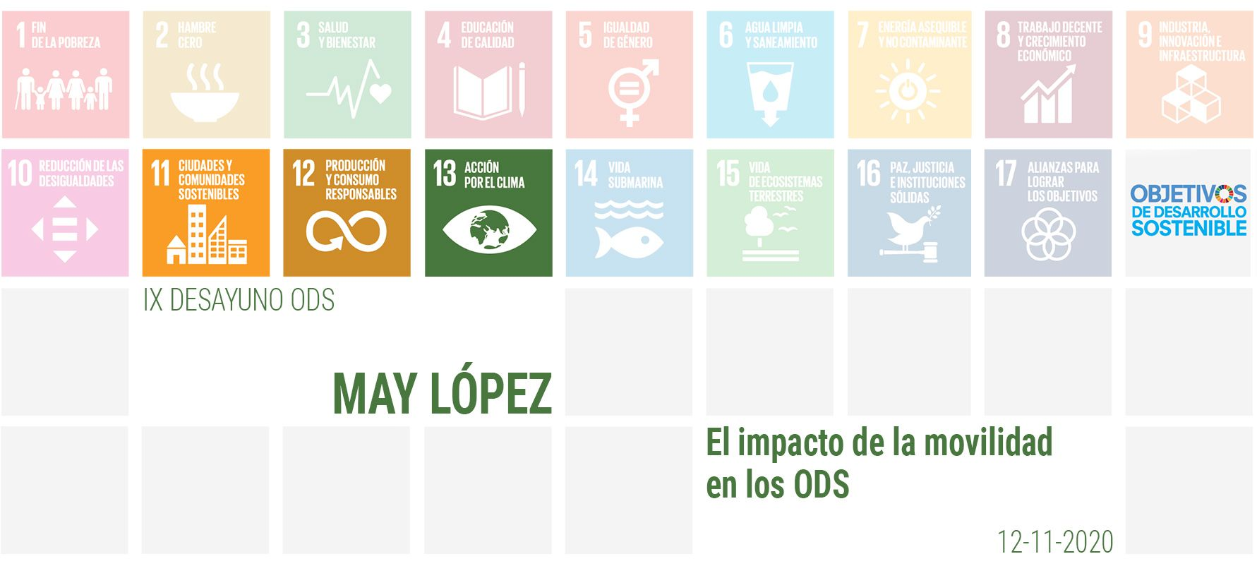 Foto de Conferencia May López Mediapost
