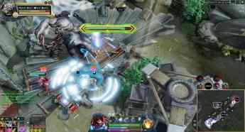 Foto de Una de las pantallas del videojuego The Immortal Mystics.