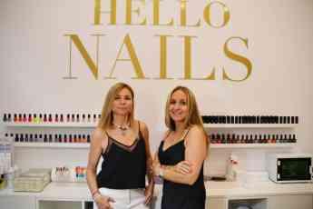 Foto de Noelia Gómez y Belén Aventín, propietarias de Hello Nails