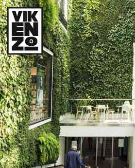 VIKENZO NATURE: Los beneficios de los jardines verticales