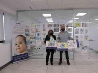 Foto de Presentación campaña sobres solidarios TIPSA 2