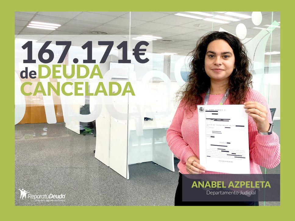 Repara tu Deuda abogados cancela 167.171,24 euros de deuda en Barcelona con la Ley de Segunda Oportunidad