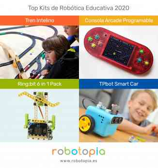 Top kits de robótica educativa 2020