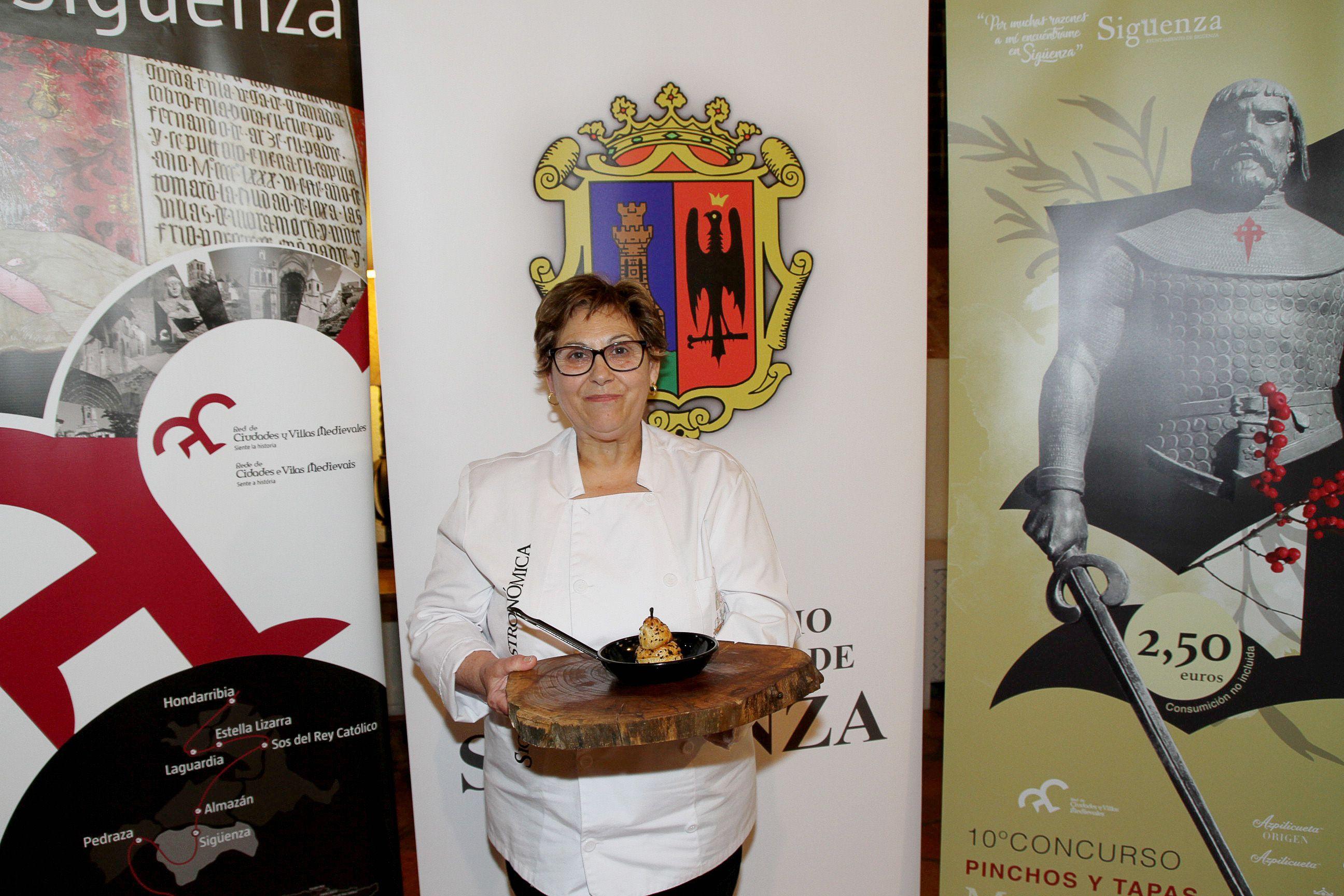 Foto de Estefanía Verdes, chef de La Granja de Alcuneza
