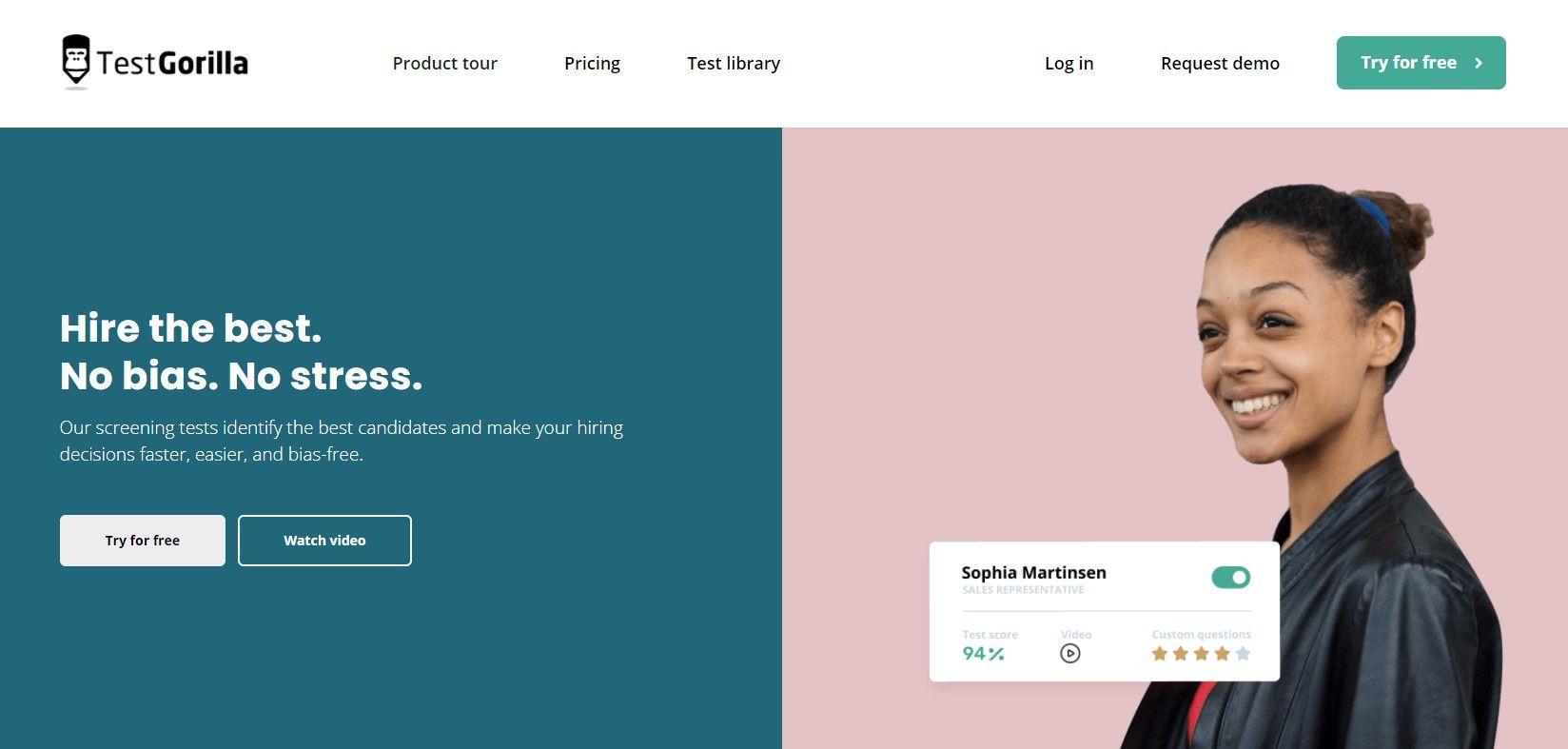 Fotografia Captura de pantalla de la página de inicio