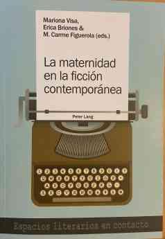 """Portada de """"La maternidad en la ficción contemporánea"""""""
