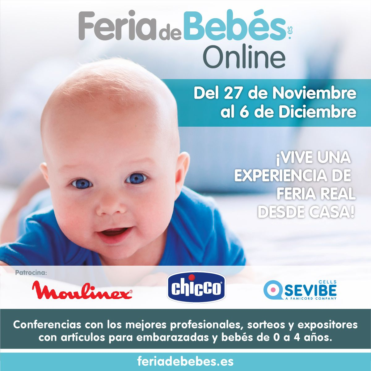 Fotografia Feria de Bebes Online - Cartel Principal