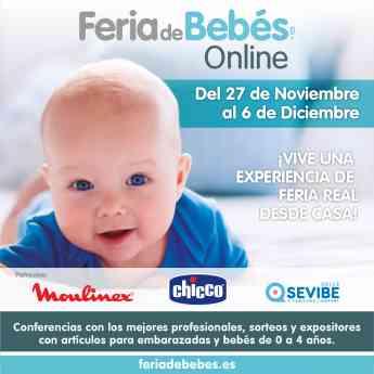 Feria de Bebes Online - Cartel Principal