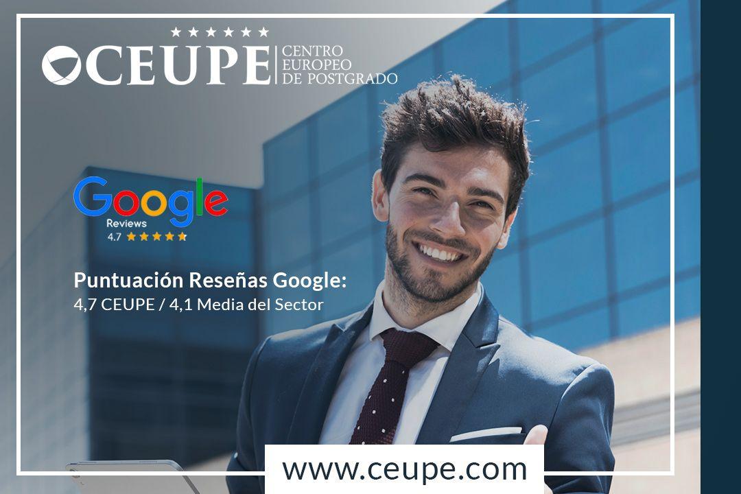 Foto de Google reconoce a CEUPE