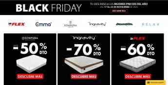 BLACK FRIDAY EN COLCHON EXPRES