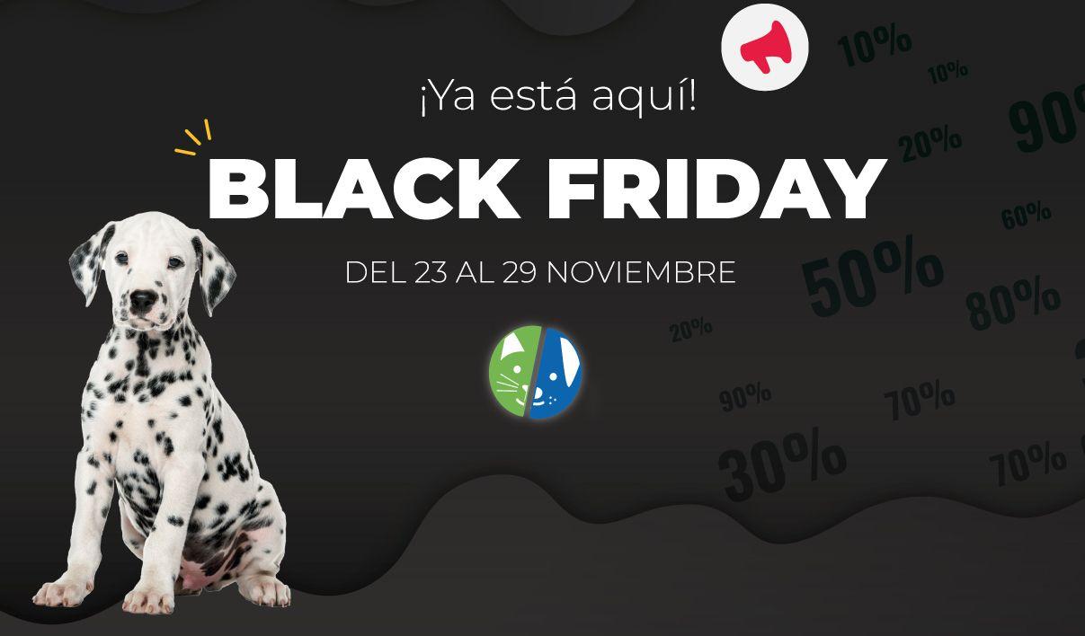 Black Friday en Mascota Planet: los mejores chollos