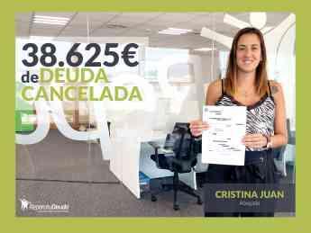 Cristina Juan, abogada en Repara tu deuda abogados
