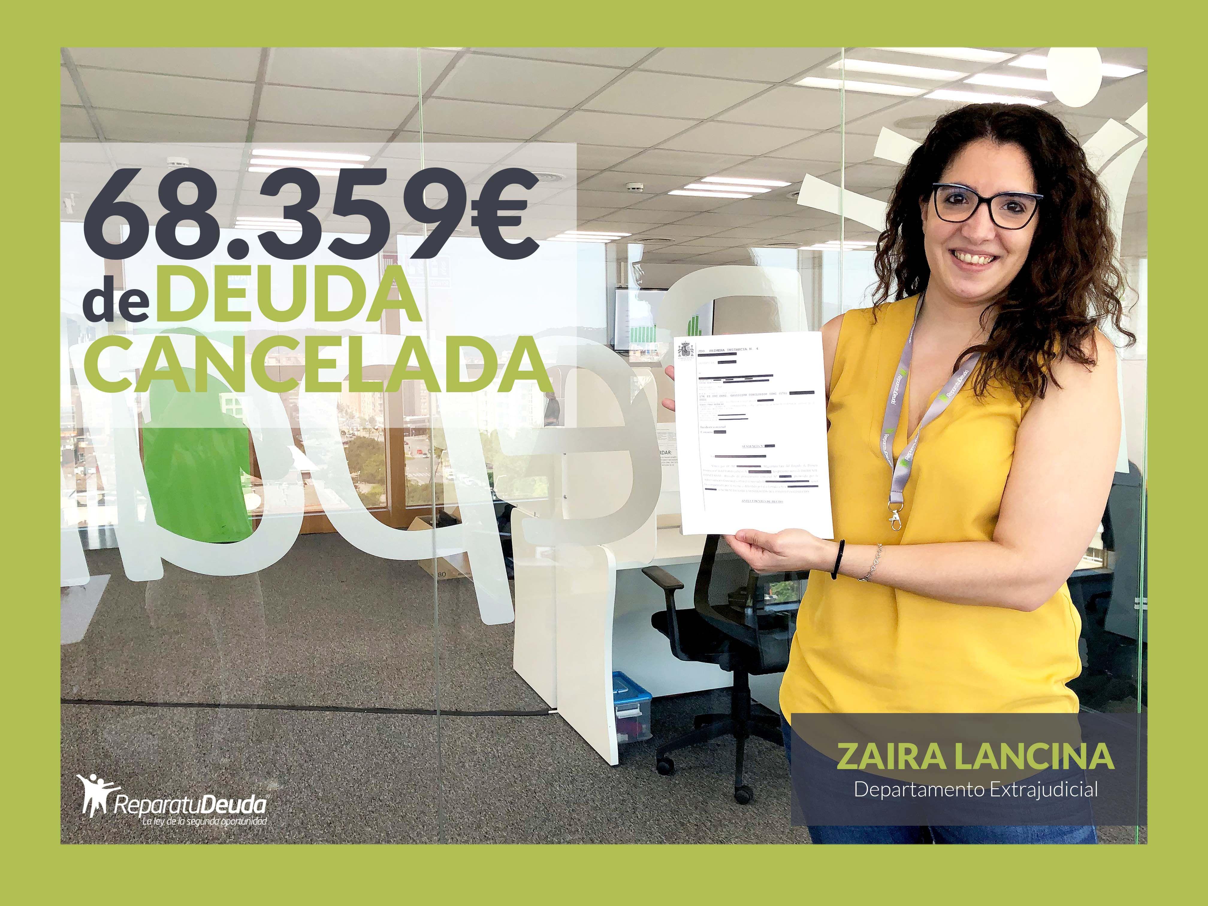 Repara tu Deuda Abogados cancela 68.359 ? en Badalona (Barcelona) con la Ley de Segunda Oportunidad