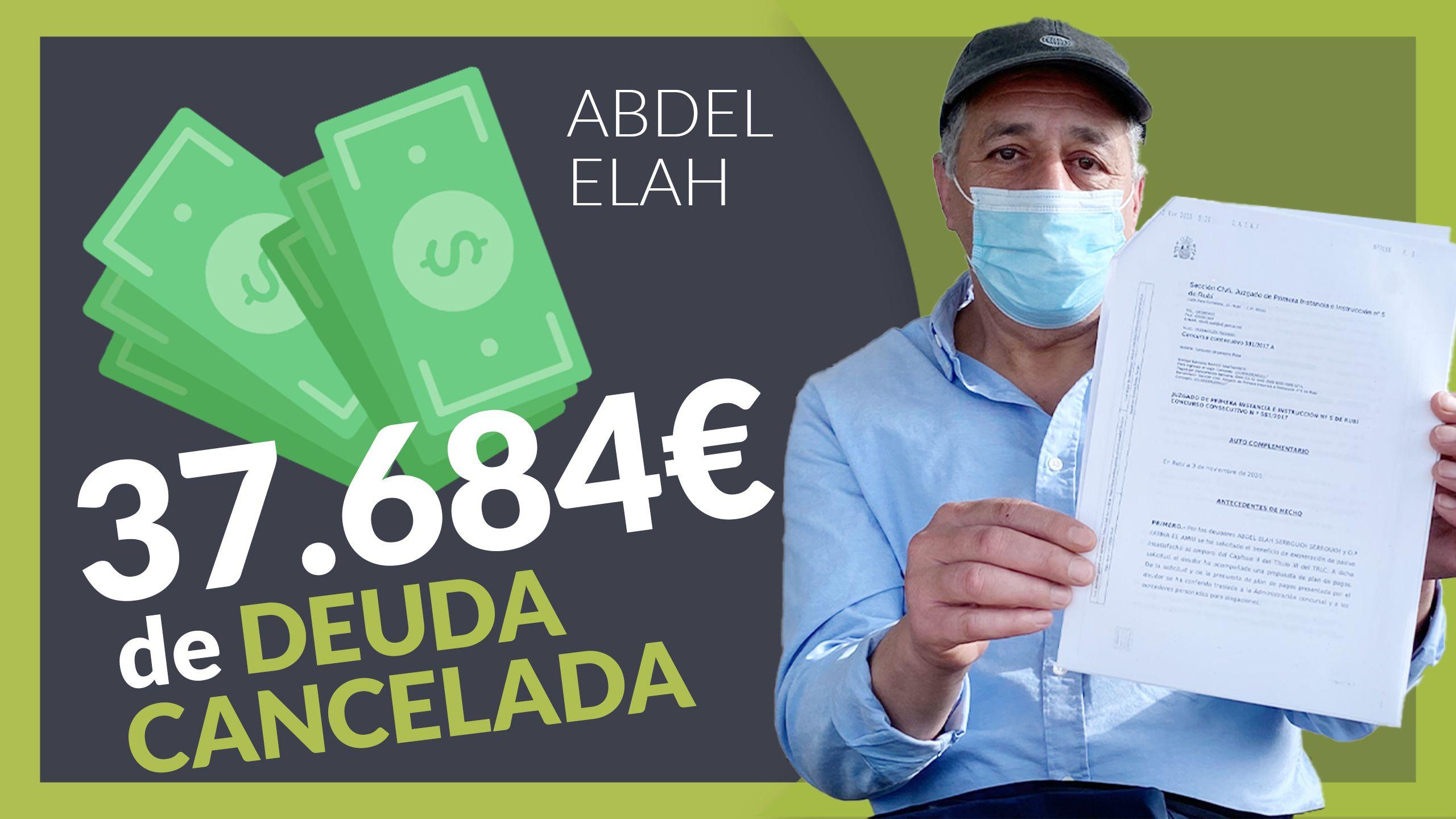 Fotografia Abdel, cliente de Repara tu deuda abogados.