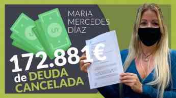 Maria Mercedes, ha cancelado todas sus deudas gracias a Repara tu deuda abogados