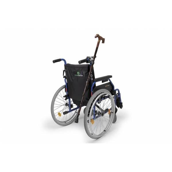 Manufacturas JICA lanza un novedoso porta bastones y muletas para sillas de ruedas